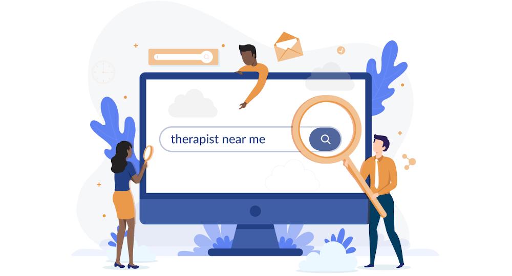 therapist near me computer search